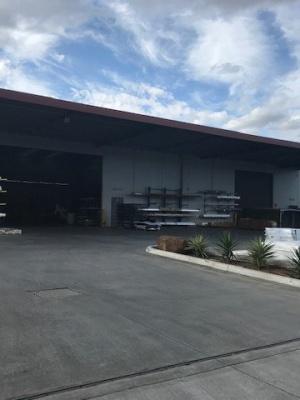 Factory-outside-loading-dock